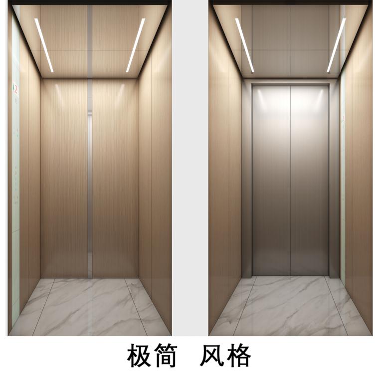 极简风格 迅达 家用别墅小型电梯 进口电梯