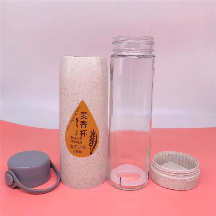 程锦厂家批发定制手机支架麦香玻璃杯