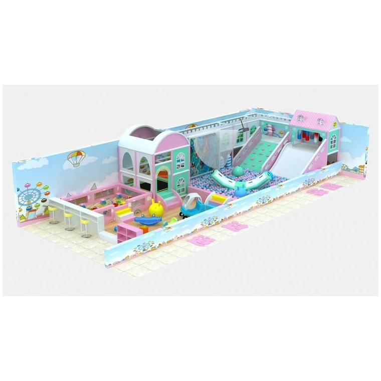廠家供應 山西太原 室內淘氣堡 超級蹦床 積木樂園設備 定制