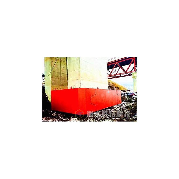 自浮式钢覆复合材料桥梁防撞设施,附着式复合材料防撞