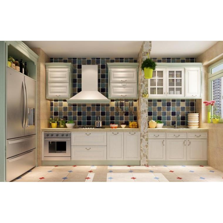 美式風格整體廚房