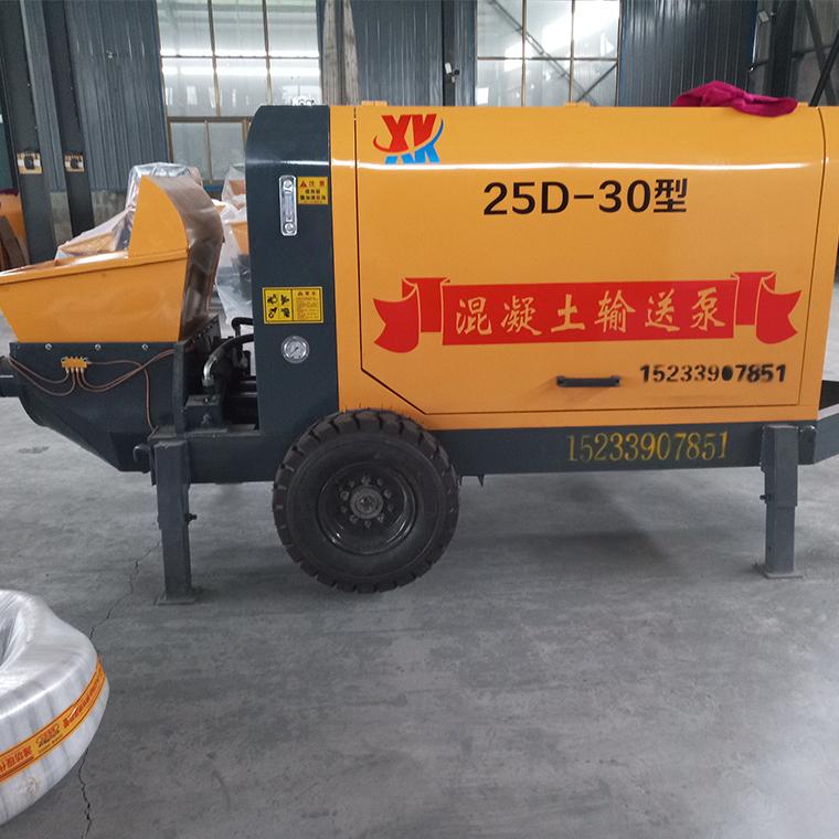 浇筑输送混凝土泵