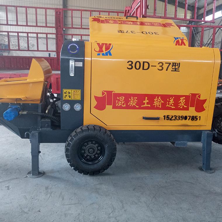 適用各種工地混凝土泵