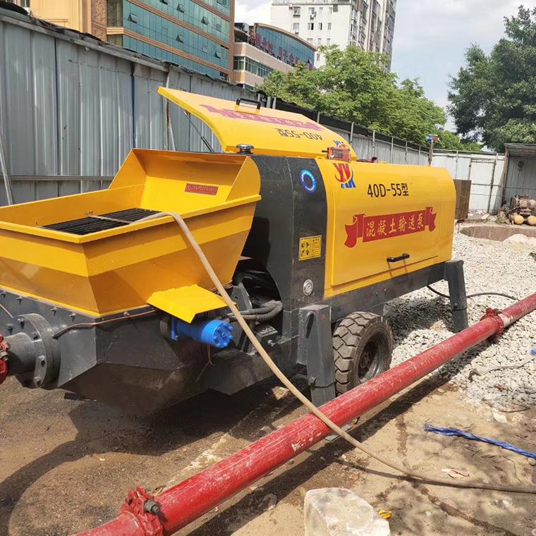 輸送混凝土地泵