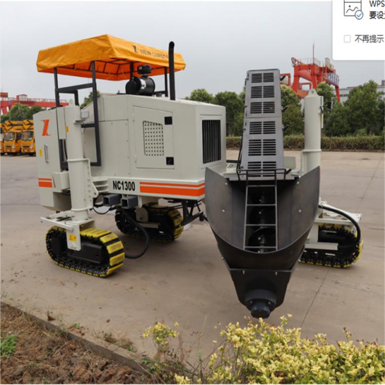 NC1300型多功能混凝土路缘石滑模摊铺机