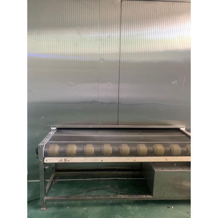 饺子速冻隧道生产线 速冻隧道输送线