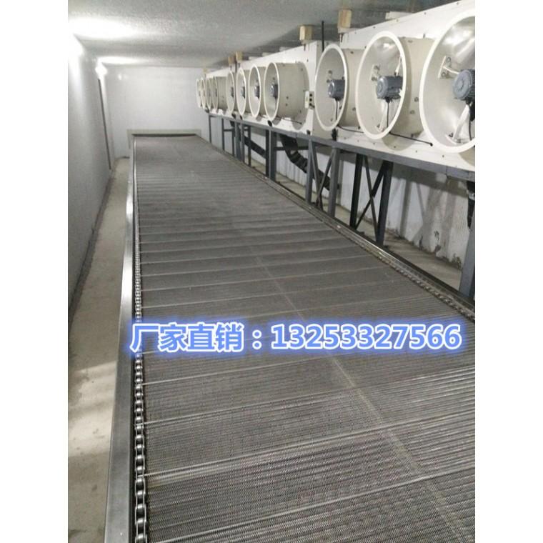 水饺速冻隧道生产线 饺子速冻隧道价格