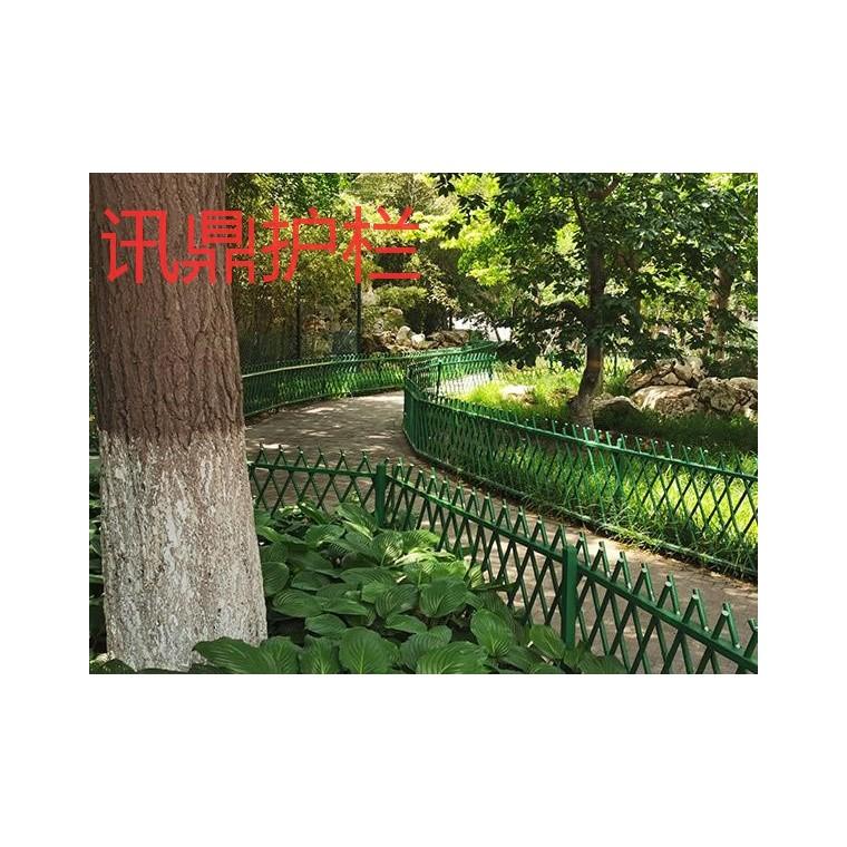 绿色田园仿真竹篱笆农家乐公园花园仿竹子围栏价格制造厂家