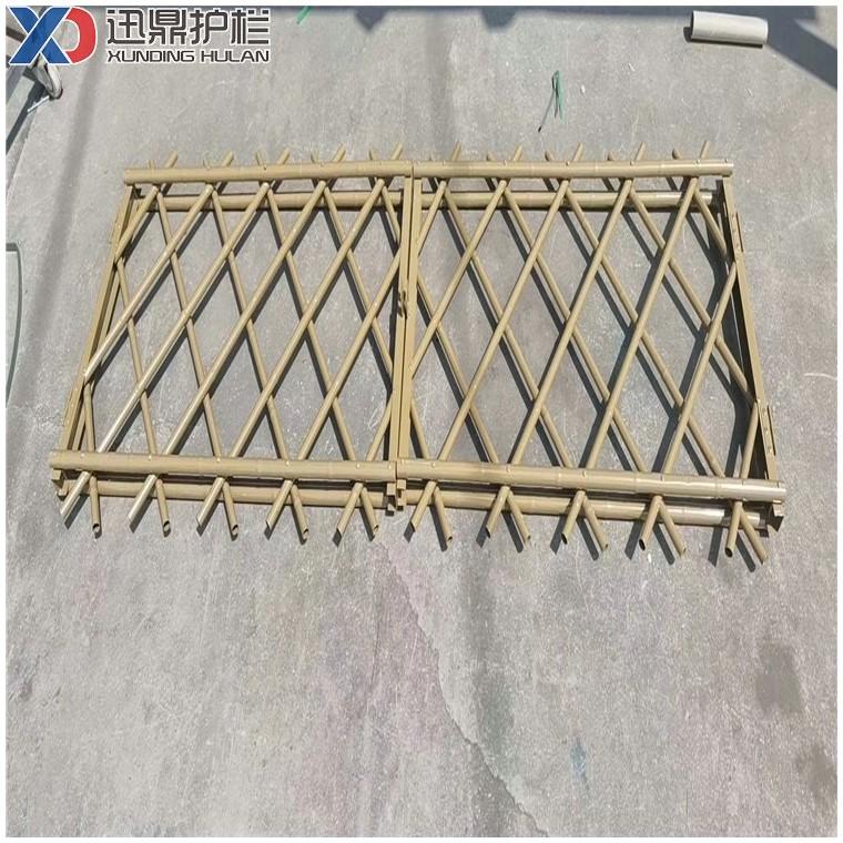景区公园黄色假竹子护栏仿真竹子围栏仿竹篱笆生产厂家
