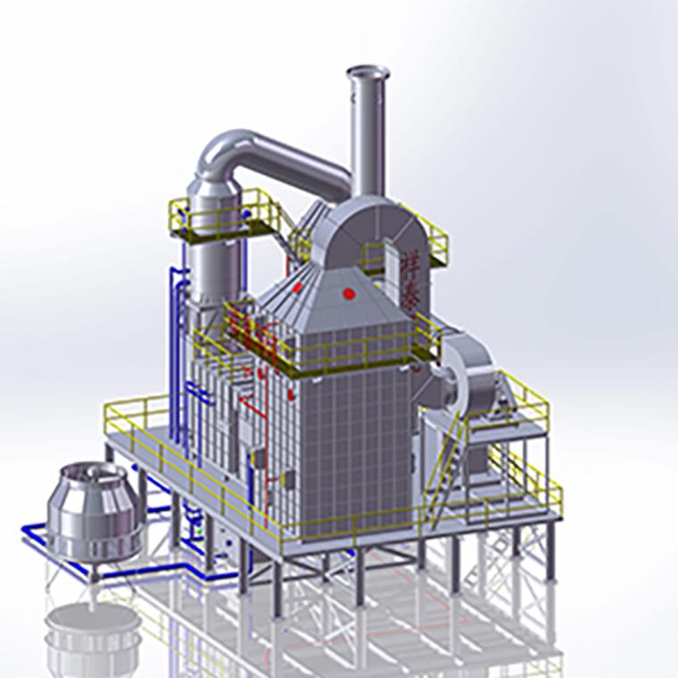 五级方形工业油烟净化器