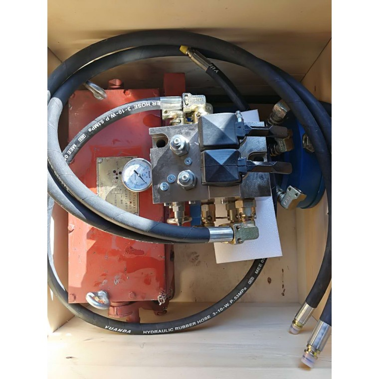 ZJ-1000 紧链器/液压紧链装置附图纸