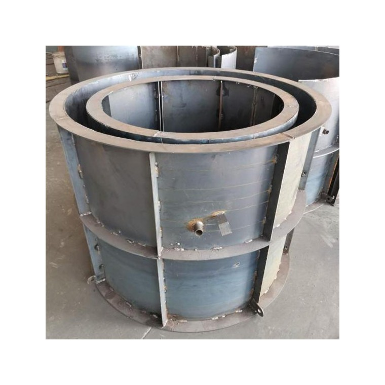 检查井模具 混凝土井体钢模板 圆形结构