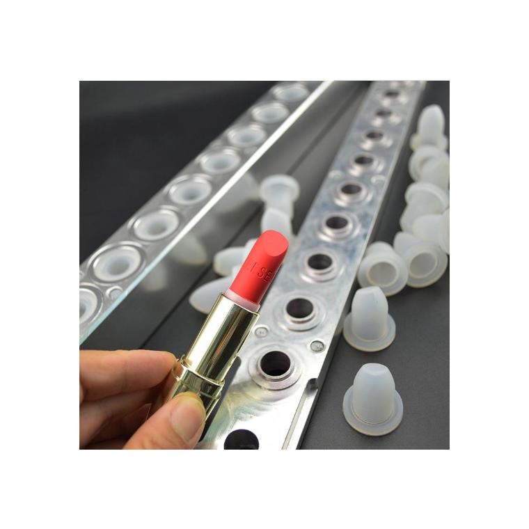 加成型口红模具铂金环保口红硅胶模具