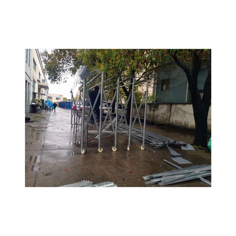 上海嘉定馬陸鎮移動雨棚 嘉定鴻禧雨棚施工團隊  周期快速
