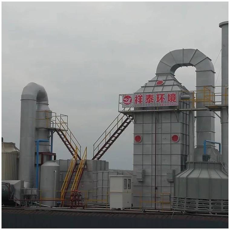 定型机油烟废气五级方形净化器