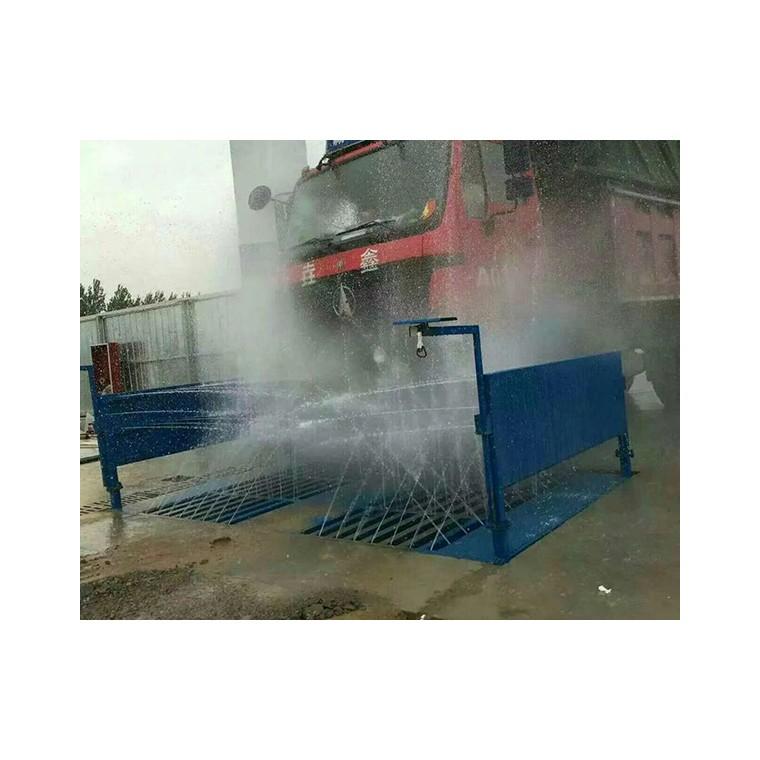 全自動半封閉工程洗車機 工地沖洗設備