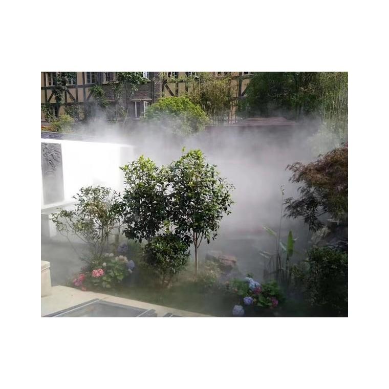 江展河景觀霧森系統 人工造霧噴淋設備