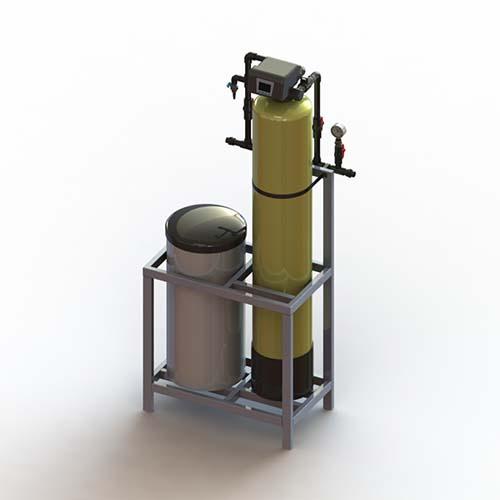 石家莊單閥單罐軟水器報價