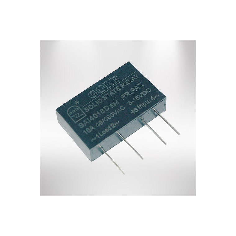 單相PCB直流固態繼電器
