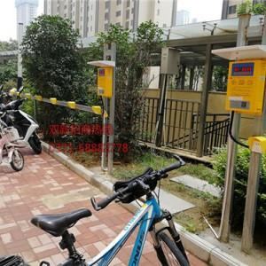 洛阳兴隆寨小区电瓶车充电桩安装案例