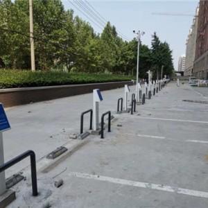 郑州中牟某区物业双路充电桩案例