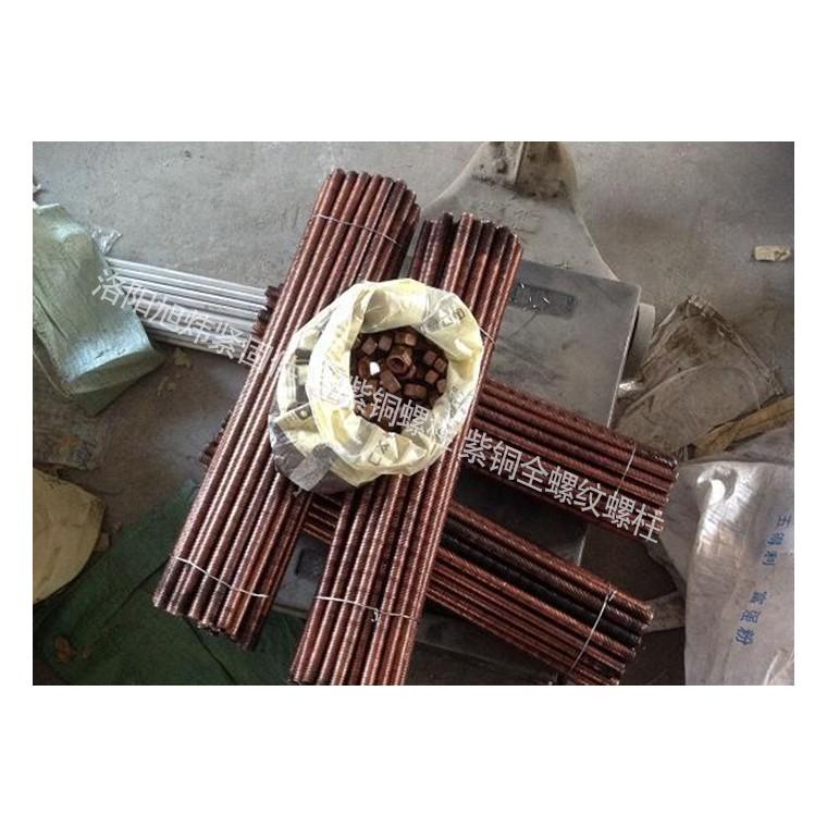 紧固件-紫铜螺栓 紫铜全螺纹螺柱