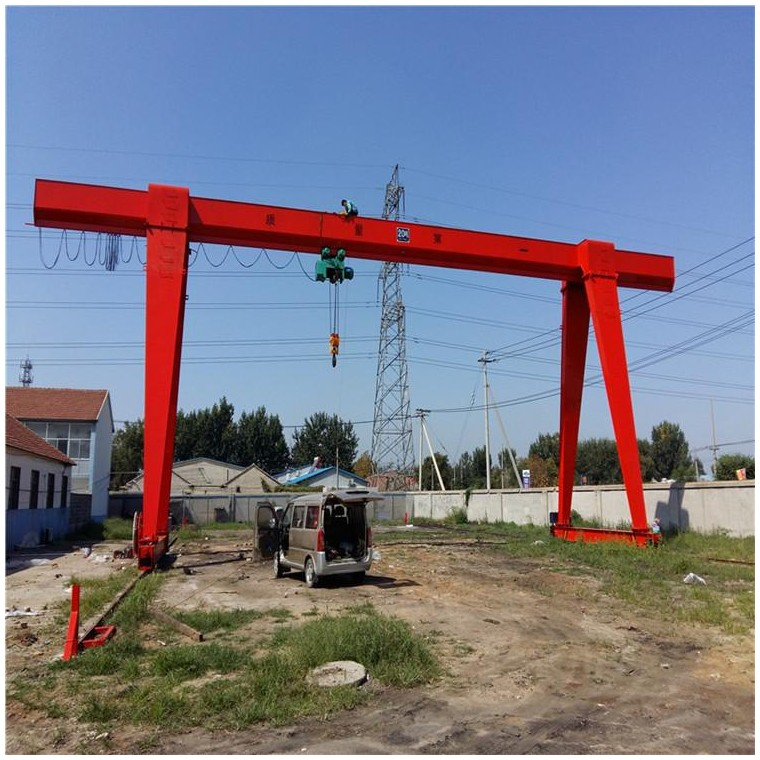 厂家直销10吨单梁龙门吊_全国发货
