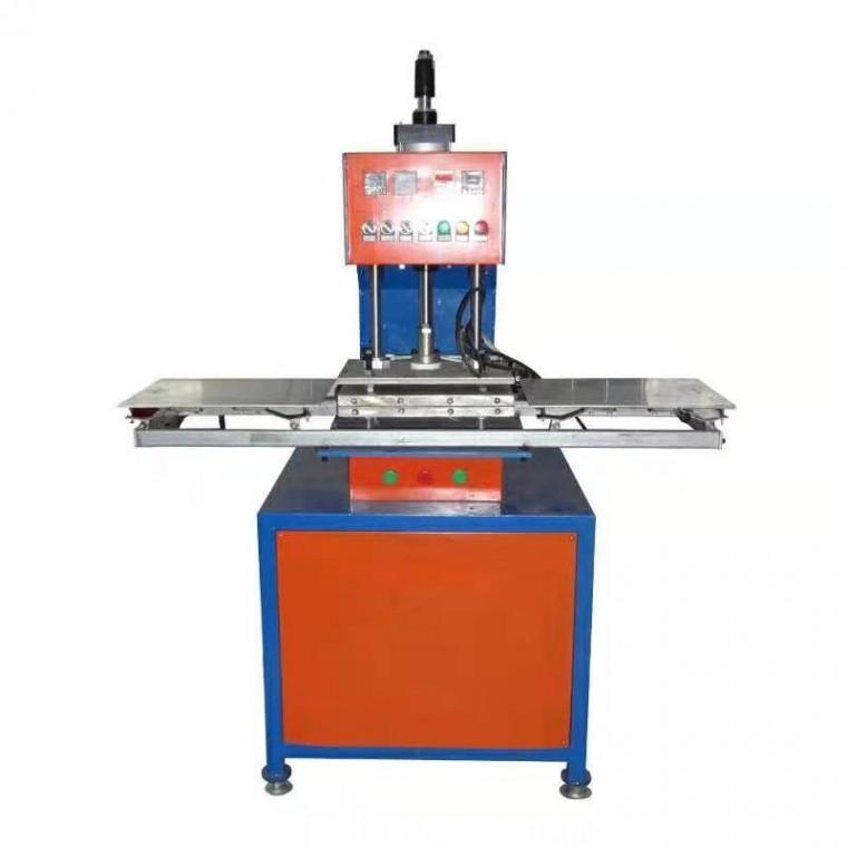 非標定制滑臺軟膜燈箱布扣邊條壓邊機壓花設備