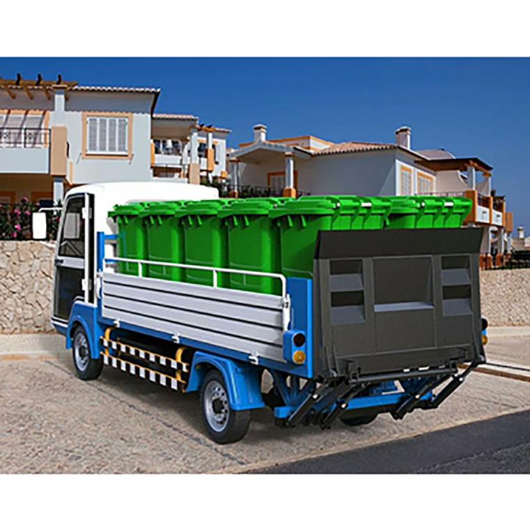 8桶垃圾清运车