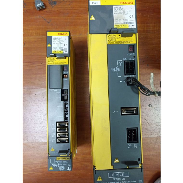 FANUC数控系统伺服驱动器维修