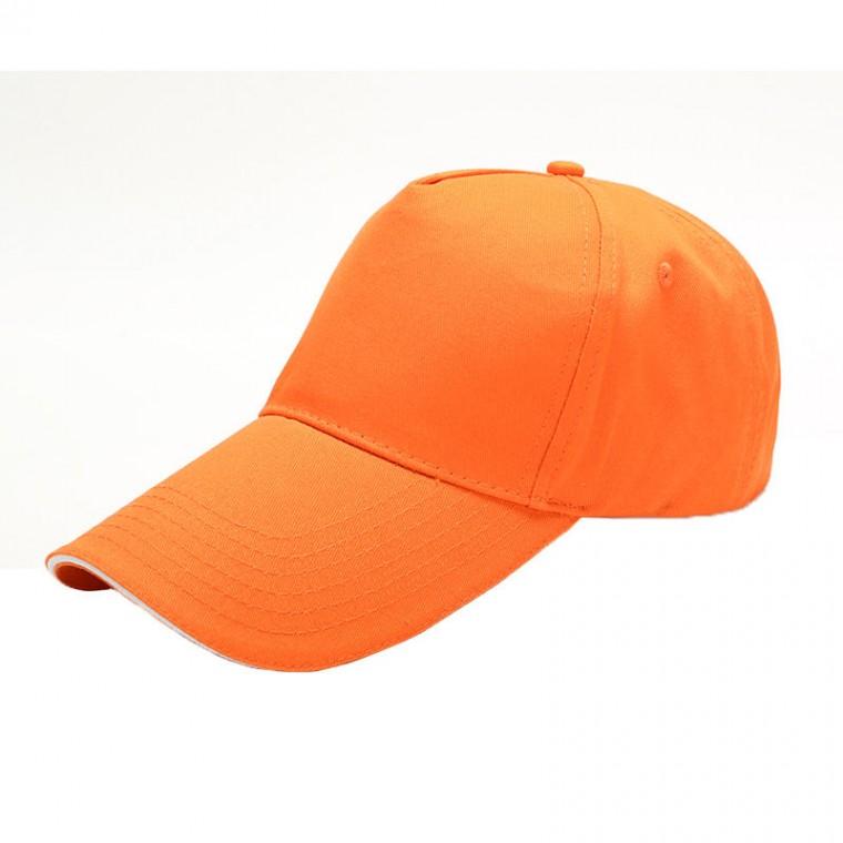 M006纯棉五片帽子